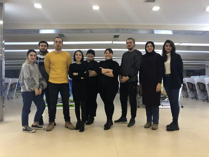 Gastronomi öğrencilerinden 'Rafadan Sözlük' projesi