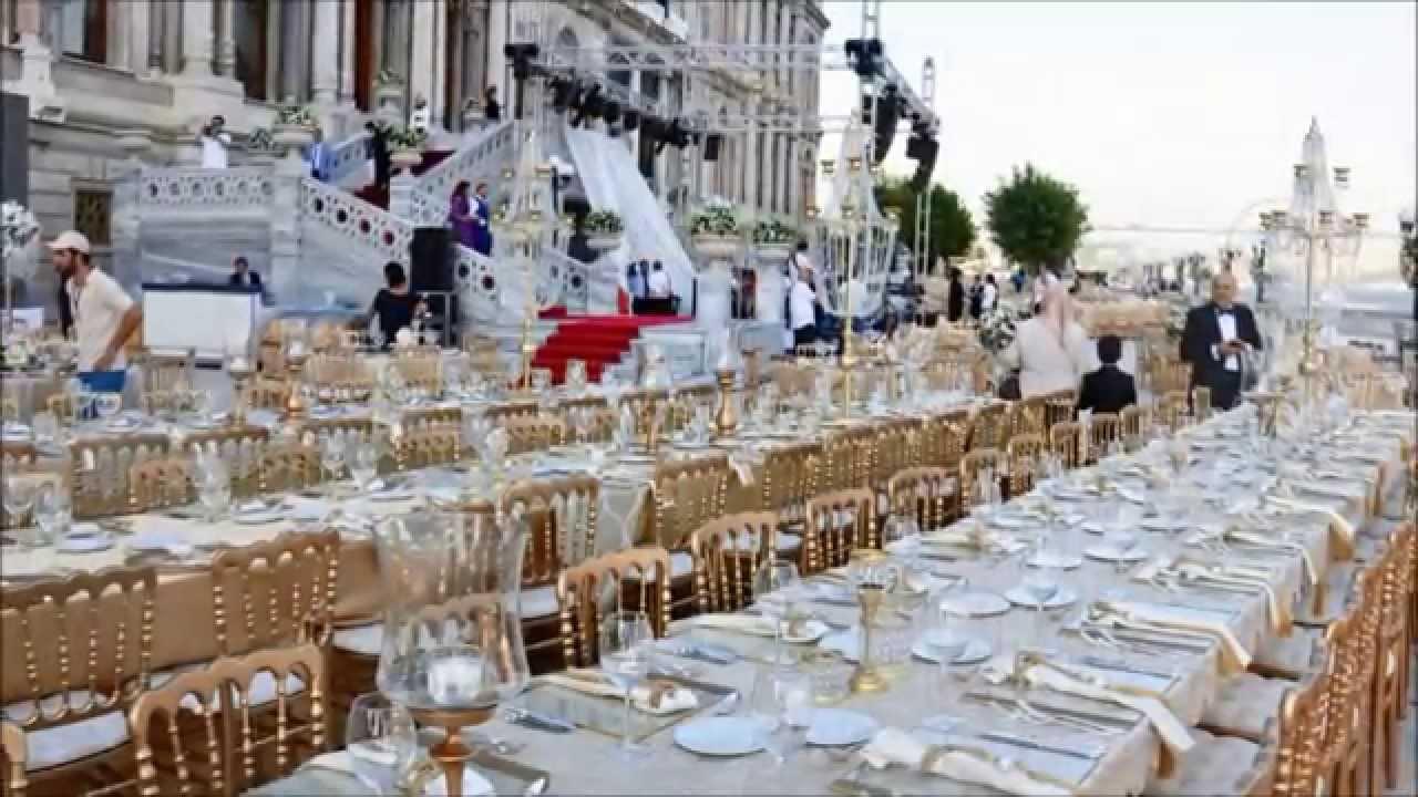 Çırağan Palace Kempinski\\\'de düğün 1 milyon lira