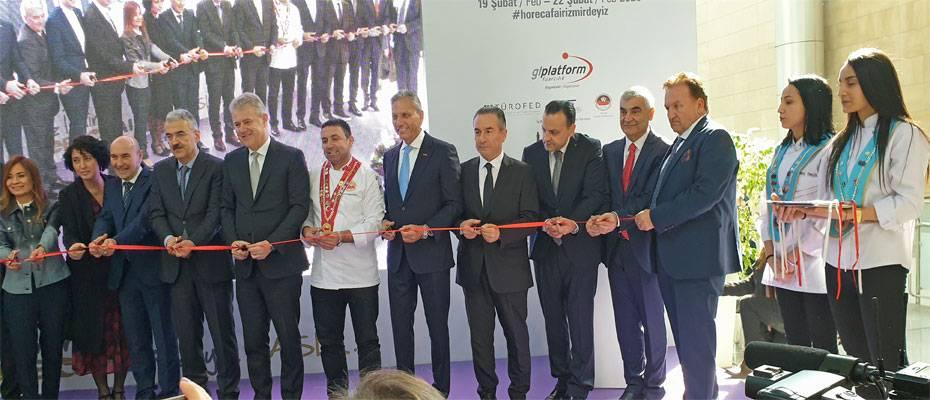 HORECA Fuarı İzmir'de açıldı