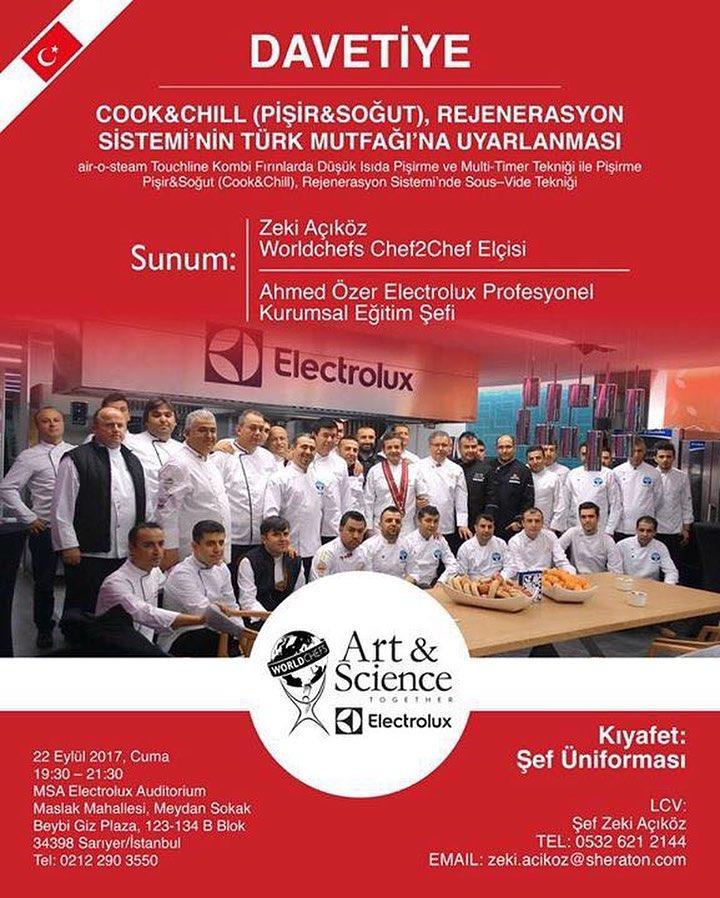 CookΧll (Pişir&Soğut) SEMİNER : 22 EYLÜL 2017