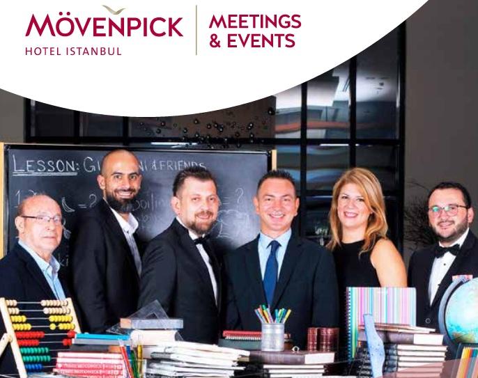 Mövenpick Hotel Istanbul da Eğitmen Şefler ile lezzet şöleni...