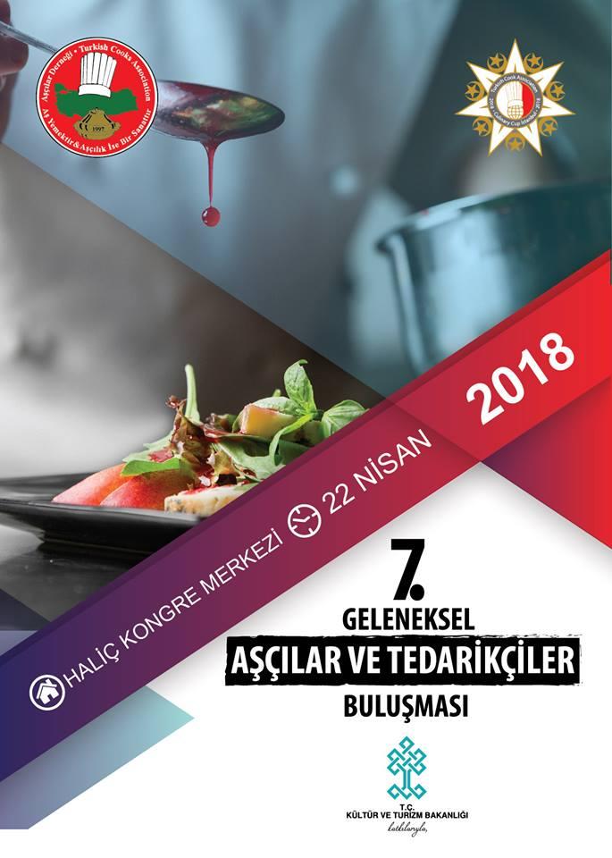 Aşçılar Derneği  7. Geleneksel Aşçılar ve Tedarikçiler Buluşması : 22 Nisan 2018