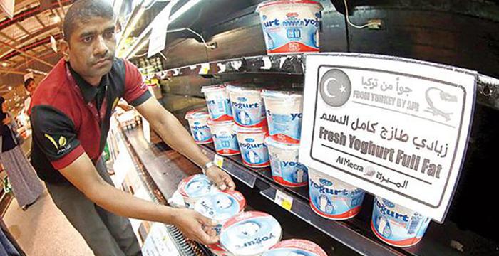 Katar'da Türk gıda ürünlerine yoğun ilgi