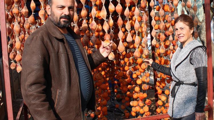 Cennet elmasını kurutarak 12 ton ihracat yaptı
