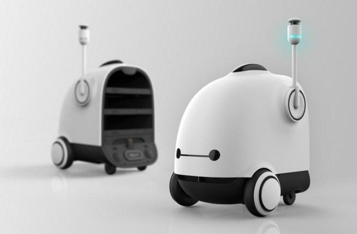 Gıda dağıtım robotu ticarileşecek