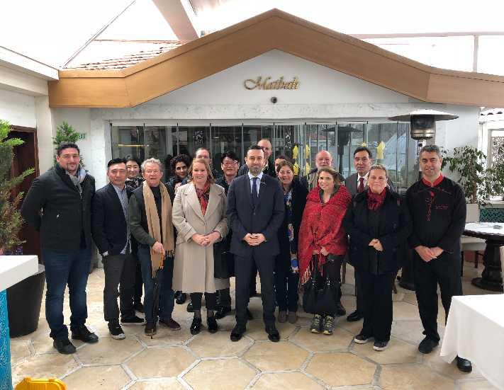 Dünya gastronomi liderleri Matbah Restaurant\'ı tercih etti