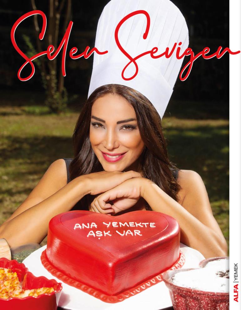 """Selen Sevigen, ilk kitabı """"Ana Yemekte Aşk Var""""ı Alfa Yayınevi etiketiyle yayınladı."""