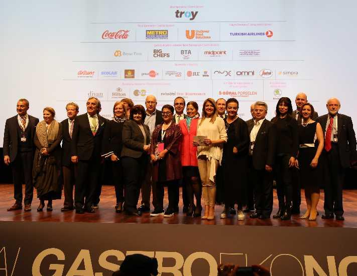 Dünya gastronomisinin maestroları Türkiye için buluştu