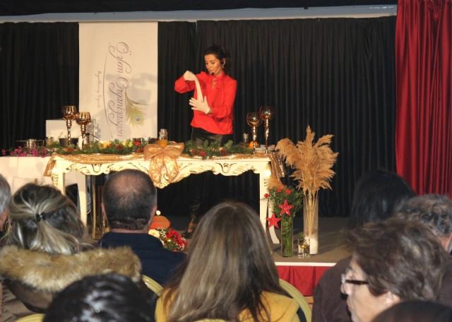 Milli Takım Beslenme Sorumlusu Omurcalı, Marmaris\'te Sahnede Yemek Yaptı