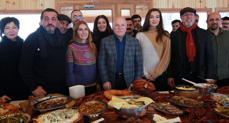 Hoştur Gastronomi\' Erzurum\'un benzersiz lezzetlerine hayran kaldı