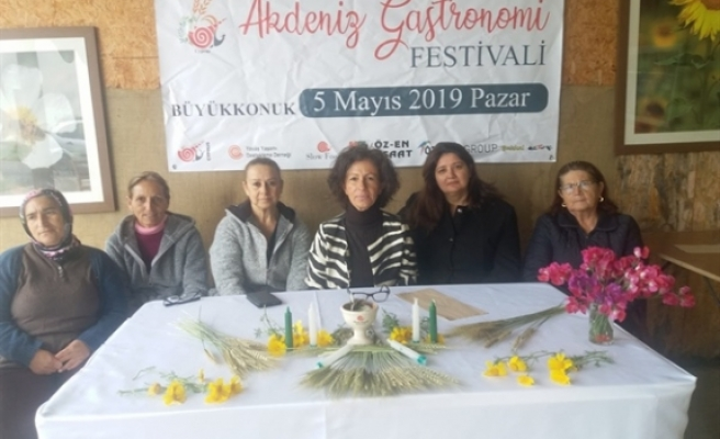 Uluslararası Akdeniz Gastronomi Festivali 5 Mayıs\'ta