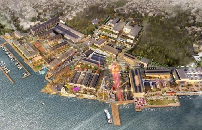 5 yıldızlı 3 otele sahip Tersane İstanbul\'un temeli atıldı