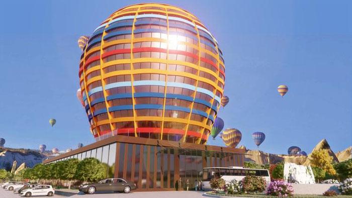 Kapadokya'ya 350 odalı balon otel