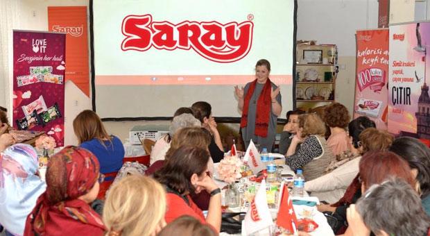 Saray Bisküvi\'den kadın emeğini büyük destek!