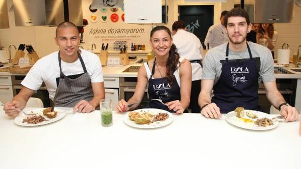Başakşehir\'in tecrübeli futbolcusu aşçı oldu !..
