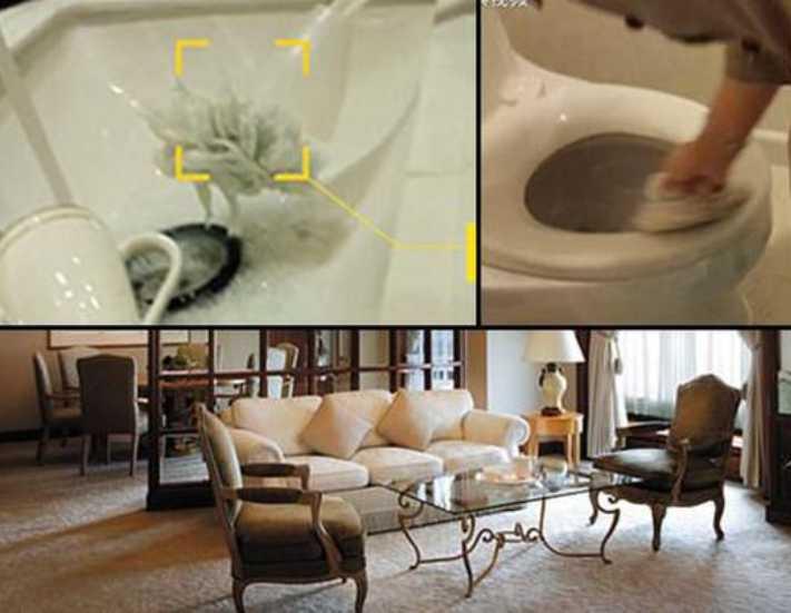 Lüks otelde skandal görüntüler