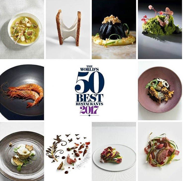 The World\\\'s 50 Best Restaurant 2017\\\'nin ilk 50 listesi!