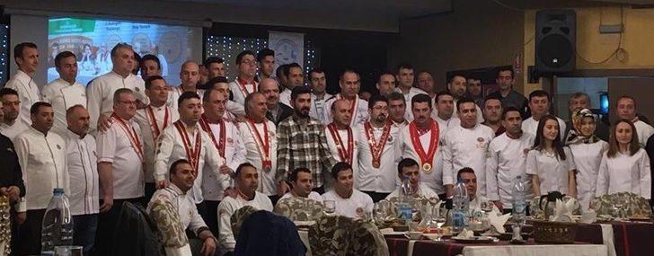Kayseri'nin profesyonel aşçıları gastronomi fuarlarına hazırlanıyor