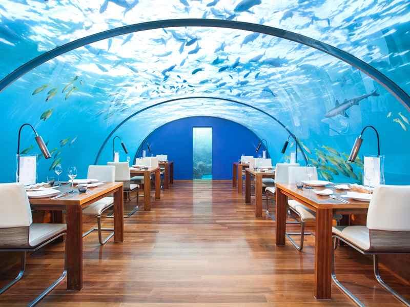 Dünyanın en fantastik 10 su altı oteli