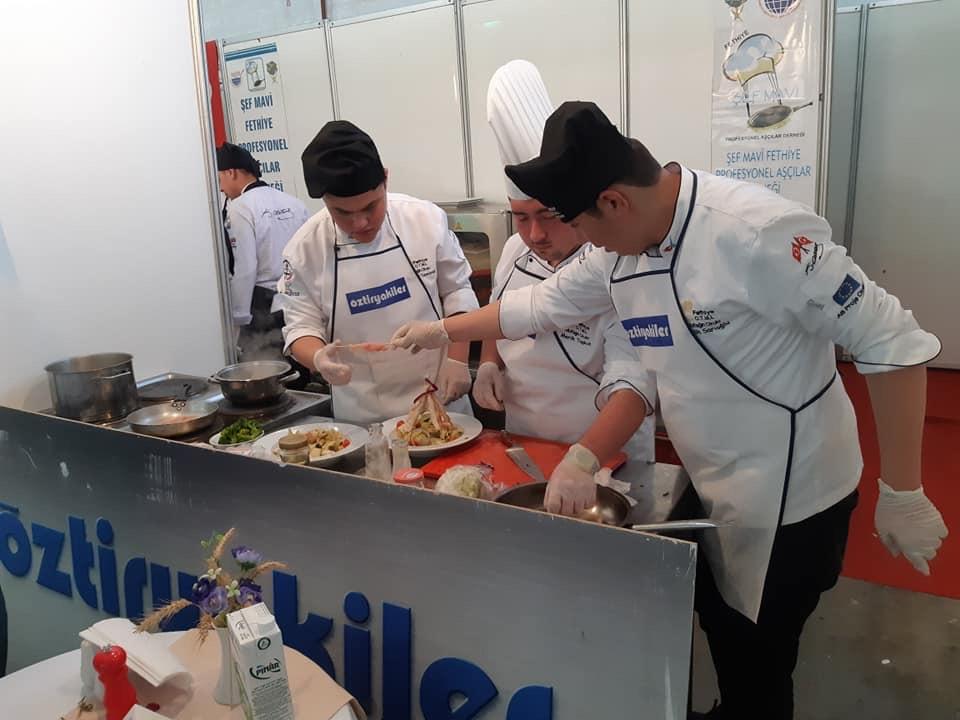 9.Şef Mavi Fethiye Ulusal Yemek Yarışması \