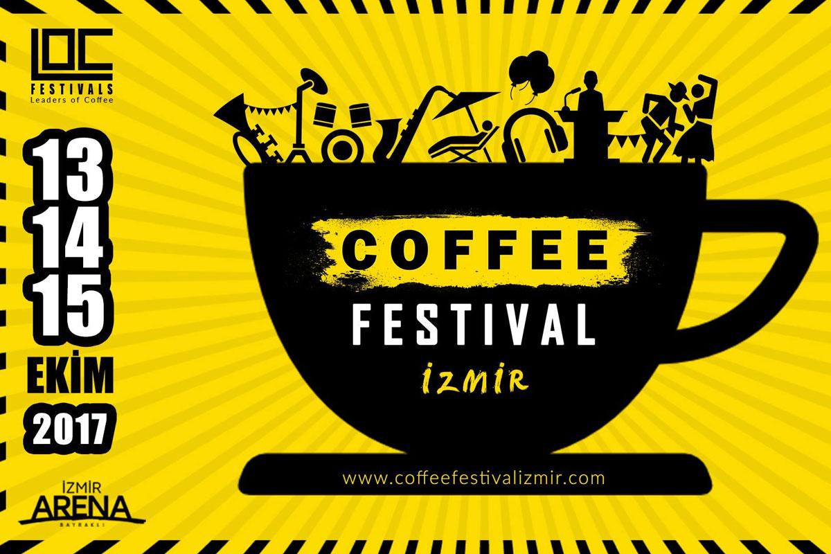 İzmir Coffee Festival | İzmir Kahve Festivali 13-14-15 Ekim 2017