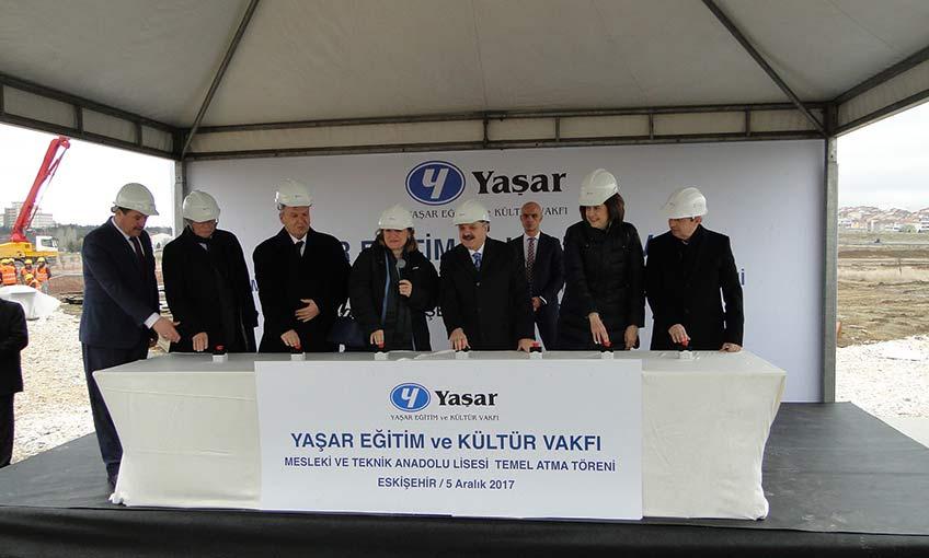 Türkiye'nin İlk Süt Teknolojisi ve Gastronomi Lisesinin Temeli Eskişehir'de Atıldı.