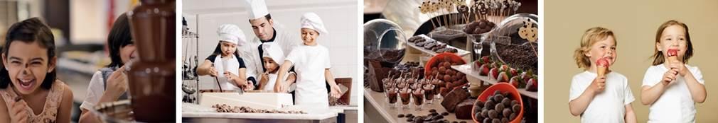 Mövenpick Hotel Istanbul da Çocuklara Çikolata Kursu...