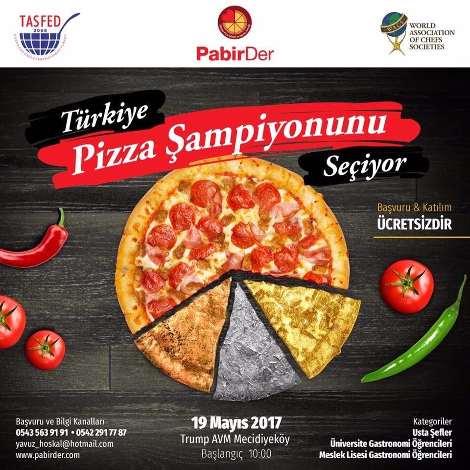 Türkiye  Pizza Şampiyonunu Seçiyor...