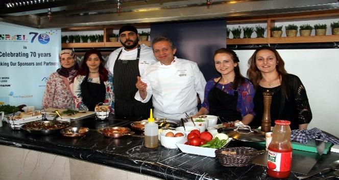 İsrailli şef aşçı ile Türk şef aşçı bir araya geldi