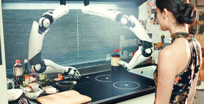 Kişiye özel aşçı robotlar geliyor