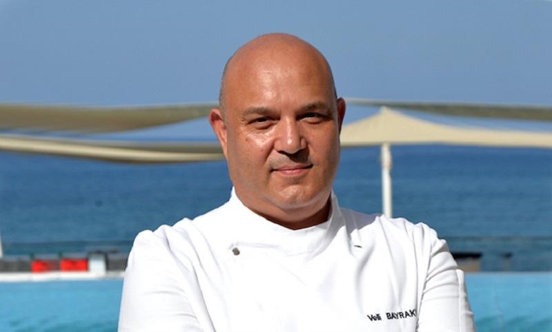 Executive Chef Veli Bayraktar'tan şef olmak isteyenlere öneriler
