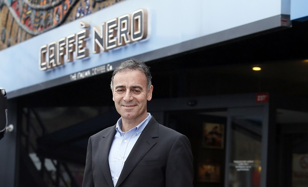Caffè Nero CEO'sunu buldu!