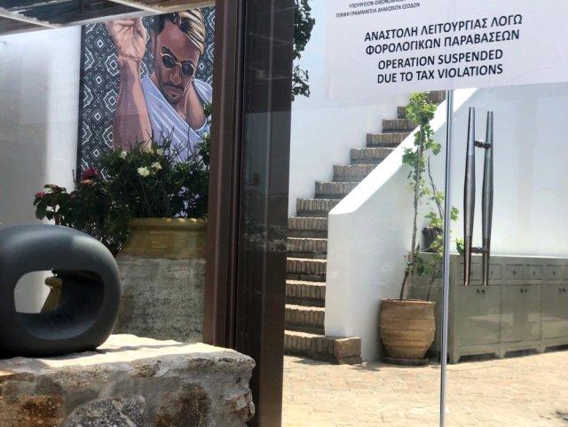 Sosyetik kasap Nusret Gökçe\'nin Yunanistan\'daki dükkanı ceza kesilerek kapatıldı