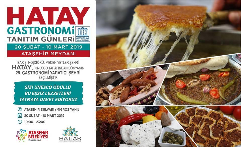 Hatay Gastronomi ve Tanıtım Günleri Ataşehir de...