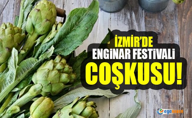 İzmir'de Enginar Festivali coşkusu