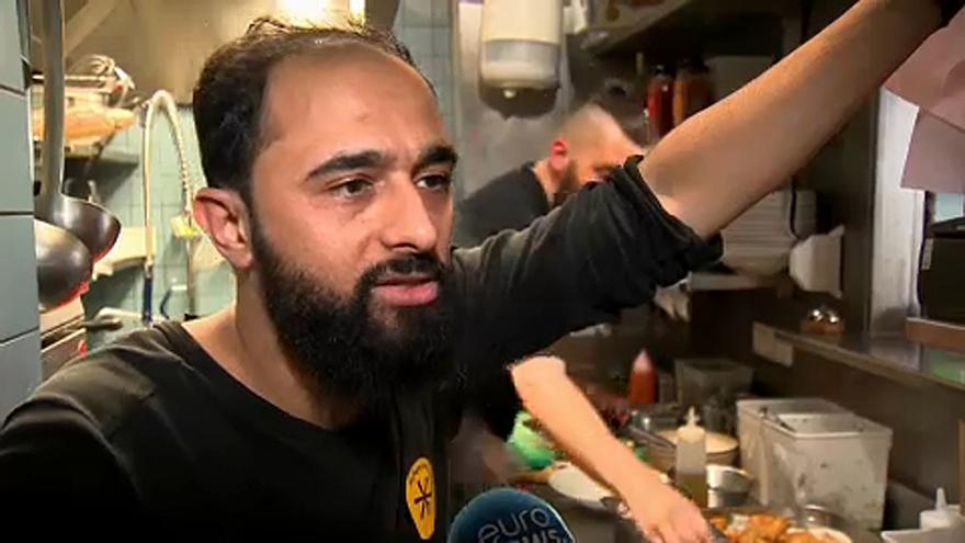 Aşçılar Mülteci Yemek Festivali\'nde hünerlerini sergiliyor