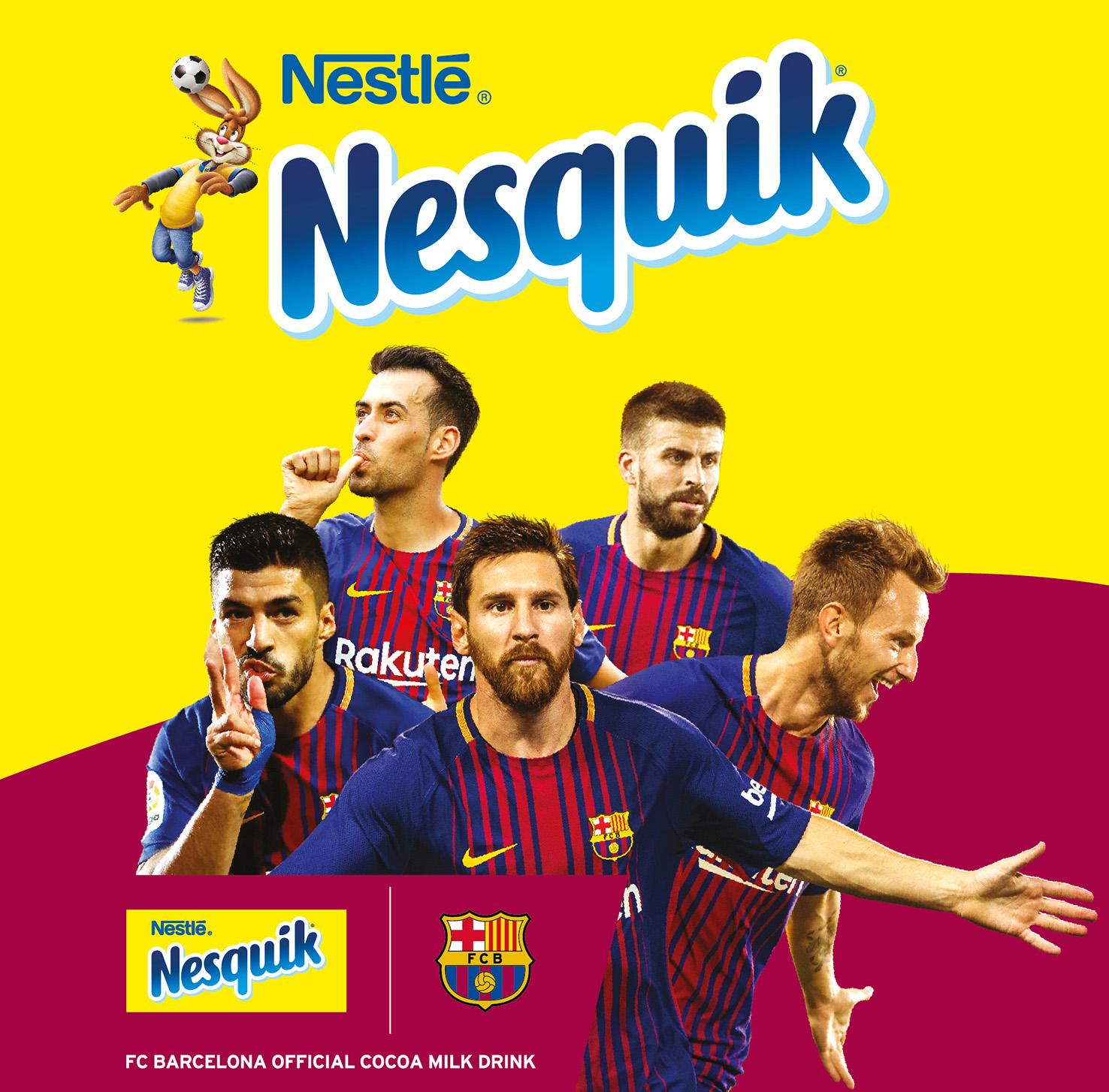 NESQUIK'ten çocukları aktif yaşama hazırlayan FC Barcelona kampanyası