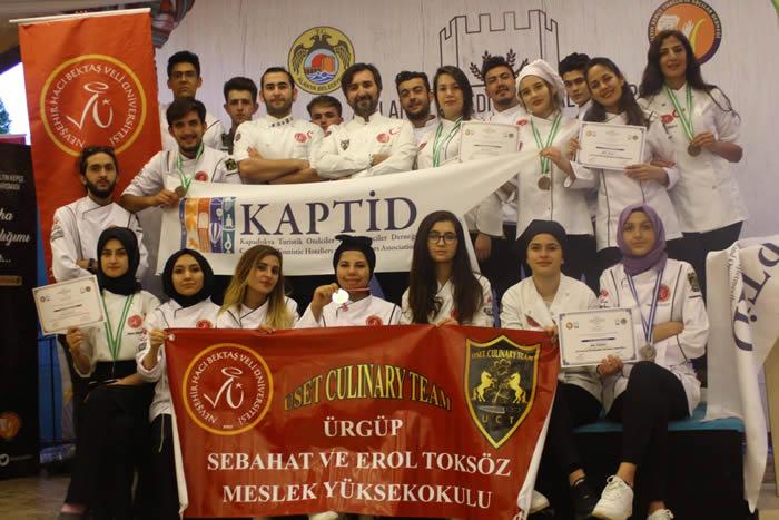 KAPTİD'ten ÜSET Aşçılık Takımı\'na kutlama ziyareti