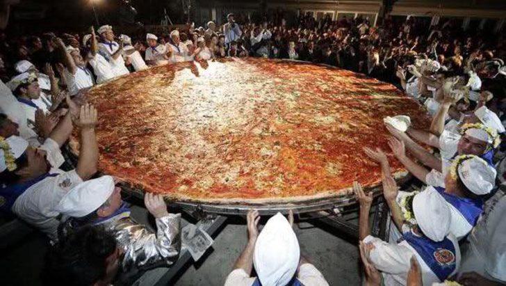 Yemek bizim işimiz! Guinness Rekorlar Kitabı\'na adımızı yazdırmayı başarmış 7 yemek rekoru