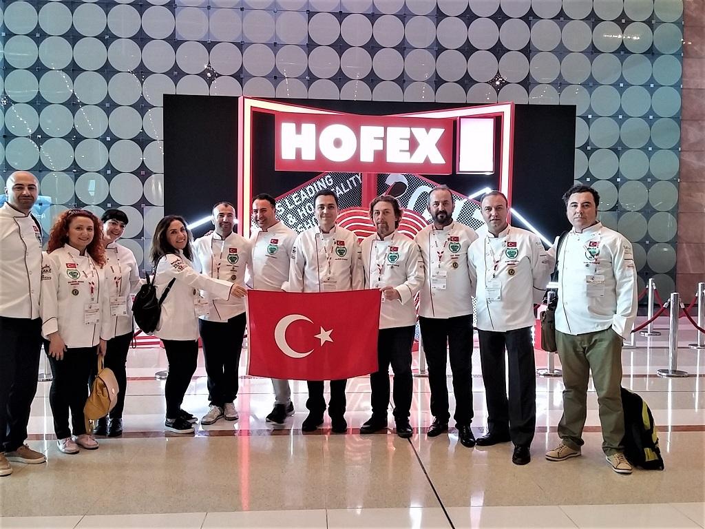 Mengen Aşçılar Federasyonu Hong Kong ta Türkiye yi Temsil EDiyor...