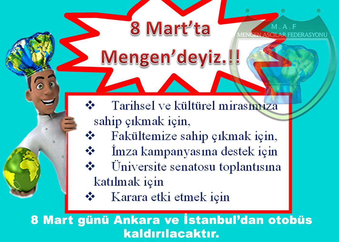 8 MART TA MENGEN DEYİZ...