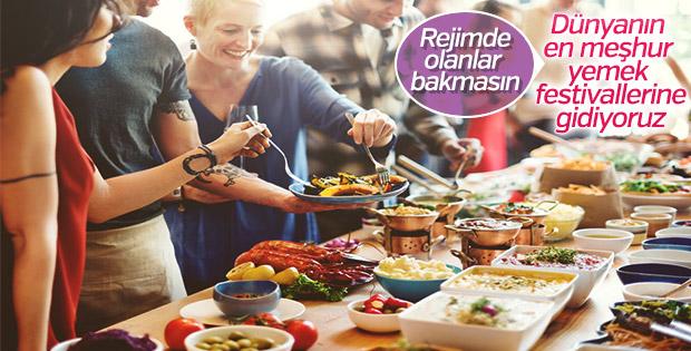 Dünyanın en popüler yemek festivalleri