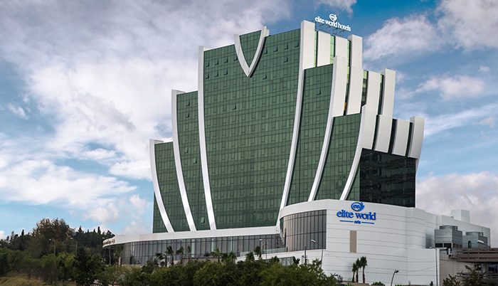 Elite World Hotels, 120 milyon dolara yaptığı yeni otelini hizmete açtı