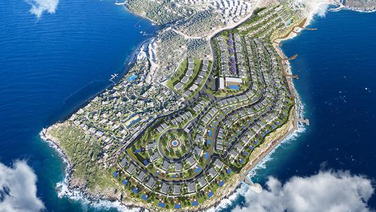 Besa Group 200 milyon dolara Bodrum a 330 villa ve bir otel yapacak