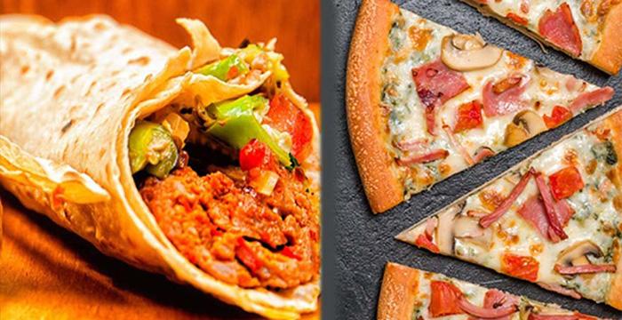 Dürüm-pizza kapışması
