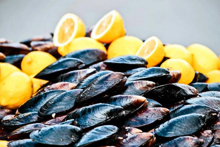 Bodrum\'da 50 kişi midyeden zehirlendi, açıkta midye satışı durduruldu