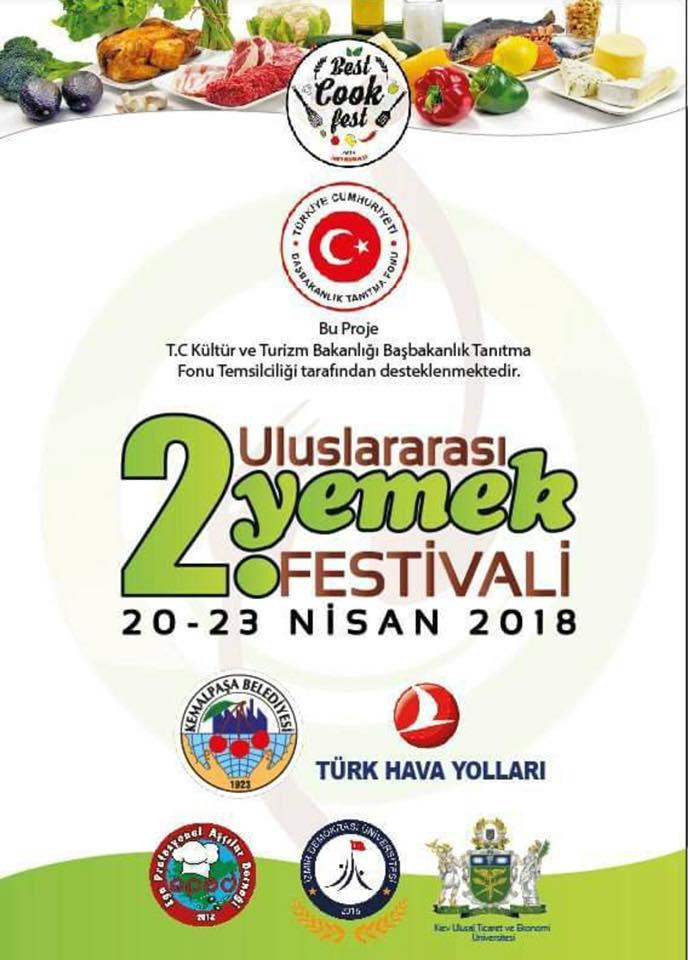 EPAD BESTCOOK FEST 2018 KEMALPAŞA YEMEK YARIŞMASI : 20-23NİSAN  2018