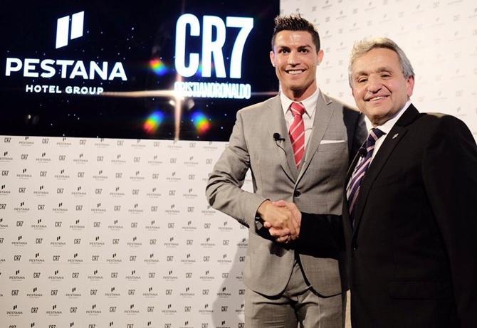 Ronaldo, oteller zincirini koronavirüsü için hastanelere dönüştürecek