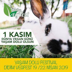Didim Vegan Festivali : 19-22 Nisan 2019