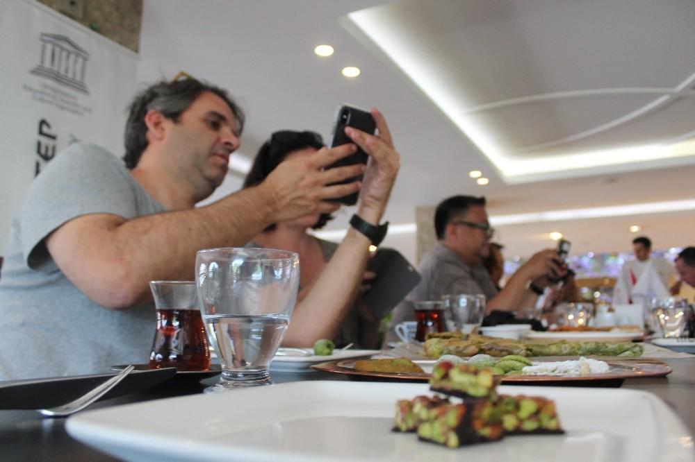 Dünyaca ünlü şefler Gastronomi kenti Gaziantep'te